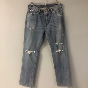 New Abercrombie & Fitch jeans size 32x32 distress